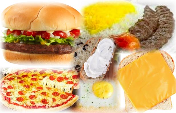 مواد پروتئینی با مواد نشاسته ای